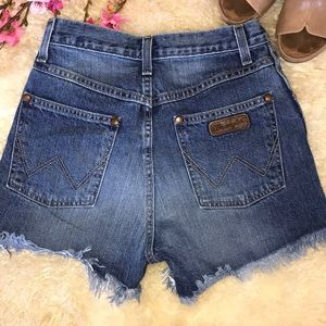 High Rise Wrangler Cut offs